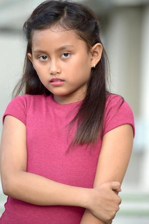 Patient Pretty Filipina Person