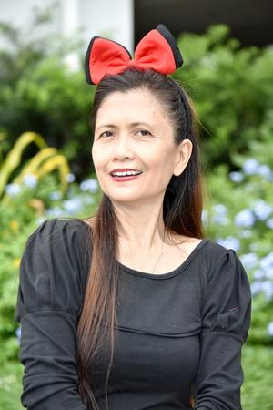 Portrait Of An Asian Female Senior