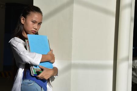 An Asian Female Student Reklamní fotografie