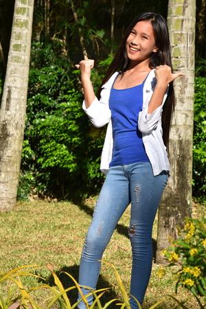 Filipina Female And Happiness