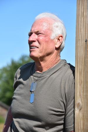 Male Veteran Portrait