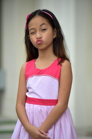 Filipina Girl Kissing