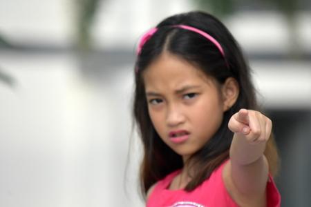 Filipina Female And Anger