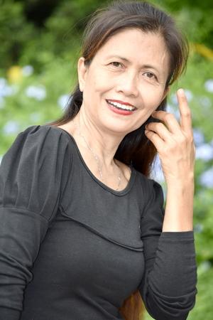 Portrait Of A Diverse Female Senior