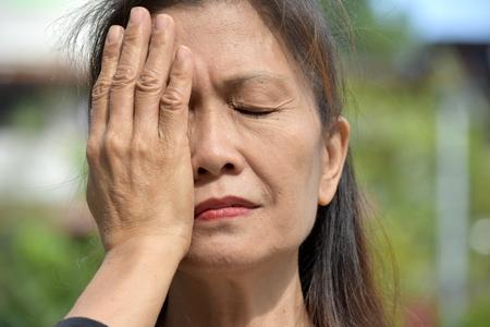 Filipina Female Senior And Dementia