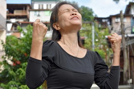 A Proud Filipina Grandmother
