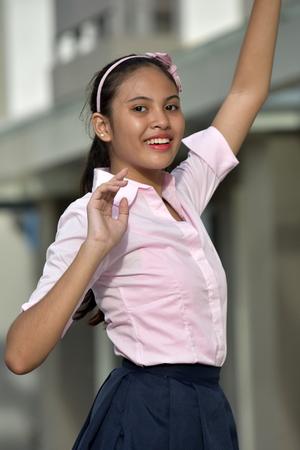 A Diverse Female Dancing