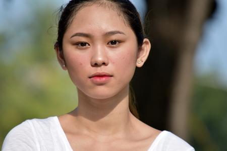 An Unemotional Filipina Female