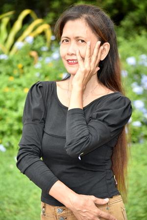 Portrait Of A Female Senior Gramma Stock fotó