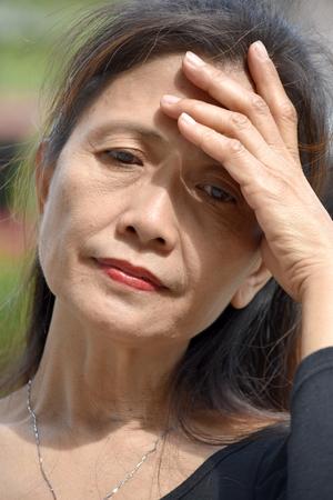 A Grandma With Alzheimers Reklamní fotografie