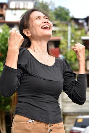Proud Old Female Senior