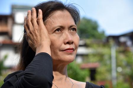 Filipina Granny And Dementia
