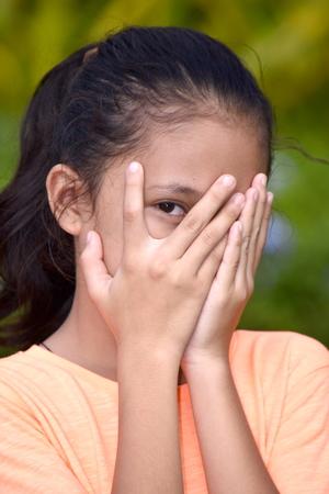 A Fearful Teenage Female