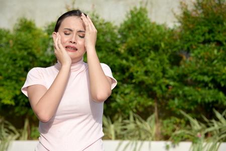 Sore Filipina Female Woman