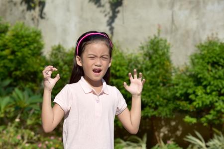 A Fearful Asian Juvenile
