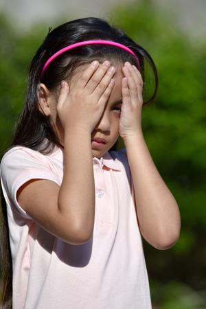 A Failed Filipina Female Stockfoto