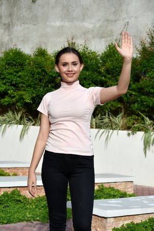 A Friendly Asian Female