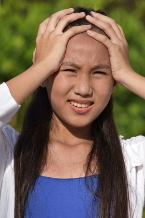 Asian Female Under Stress