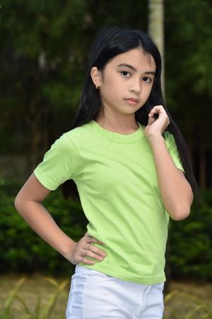 Portrait Of A Petite Asian Person
