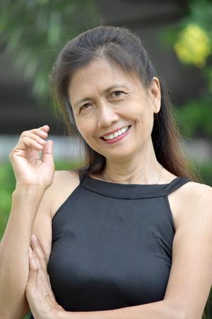 Portrait Of An Ld Minority Female Senior