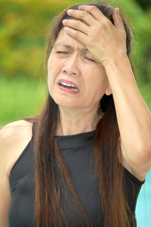 A Forgetful Asian Woman