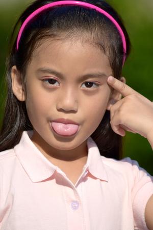 Insane Young Filipina Female