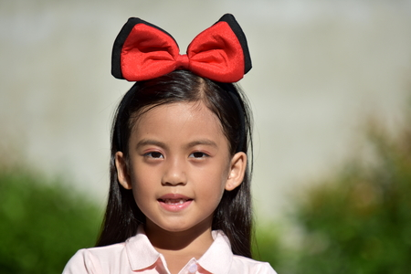 Adorable Cute Filipina Girl Preteen