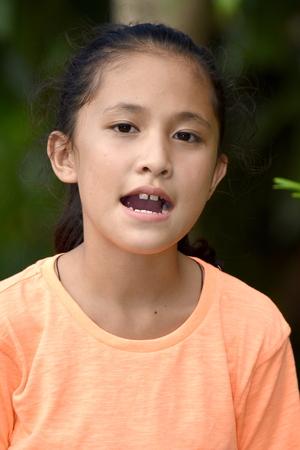 A Minority Juvenile Talking