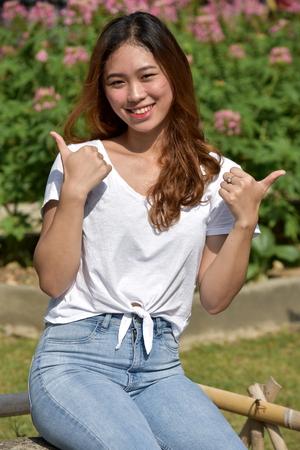 A Proud Filipina Woman
