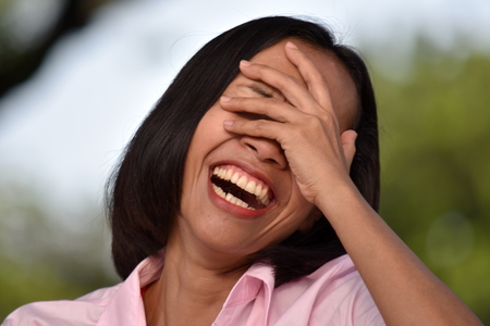 A Diverse Female Laughing Stock Photo