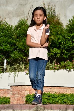 Petite Minority Female Standing