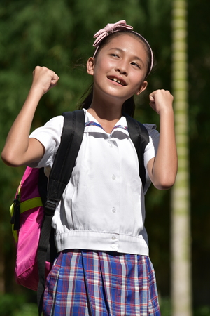Proud Young Filipina Person Stock Photo - 119804724