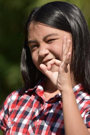 Ok Cute Filipina Person