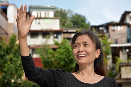 A Friendly Filipina Grandma