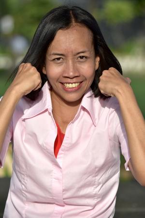 Proud Minority Female Woman