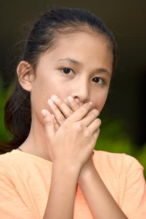 Silent Cute Minority Girl