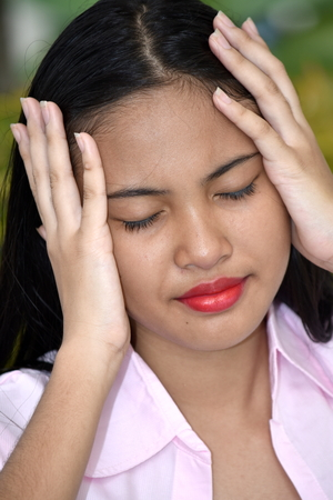 A Girl Under Stress