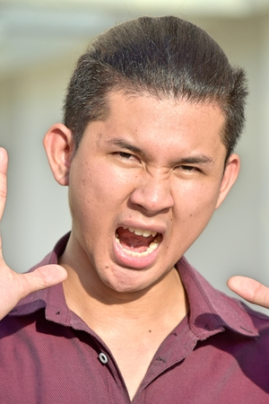 An Angry Asian Person