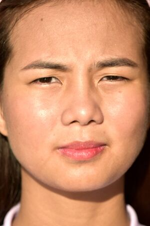 An Unemotional Asian Female