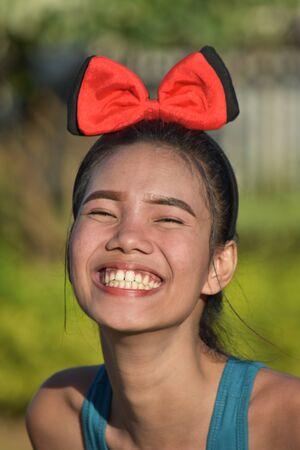 Youthful Minority Female And Happiness
