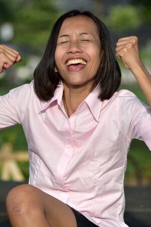 Successful Asian Adult Female