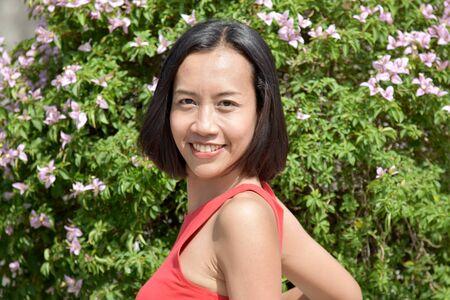 Portrait Of A Beautiful Minority Adult Female Stock Photo - 128328813