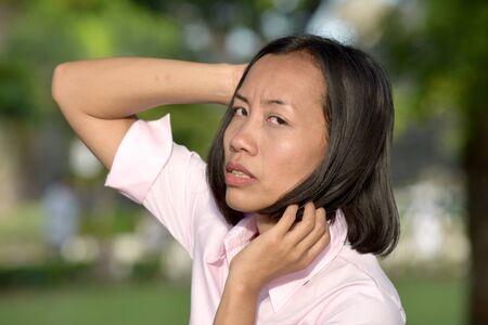 An Unhappy Minority Person Reklamní fotografie