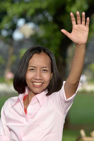 A Friendly Adult Female
