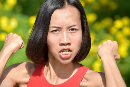 Filipina Adult Female And Anger