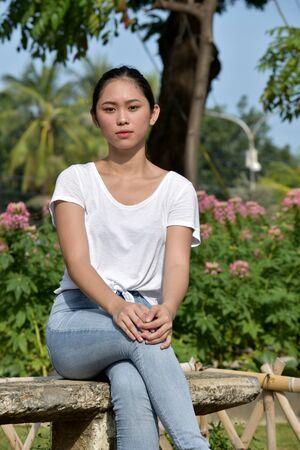 Unemotional Filipina Adult Female