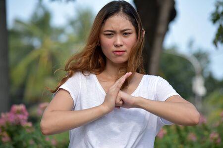A Mad Filipina Female