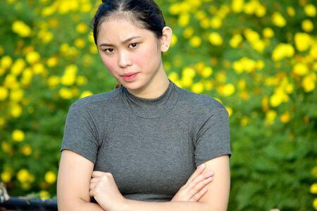 Stubborn Pretty Asian Person