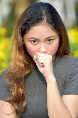 Sick Attractive Filipina Person