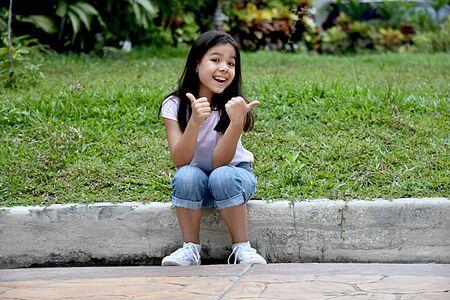 Proud Petite Filipina Female 스톡 콘텐츠